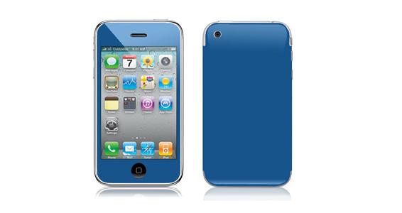 sticker Bleu roi pour Iphone3