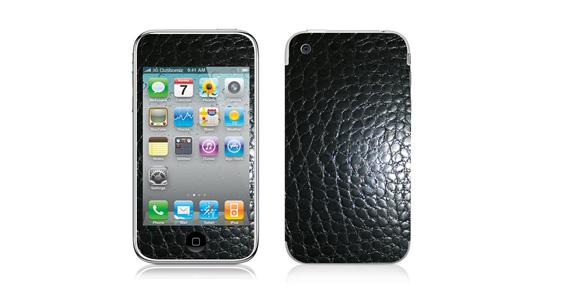 sticker Crocodile Noir pour Iphone3