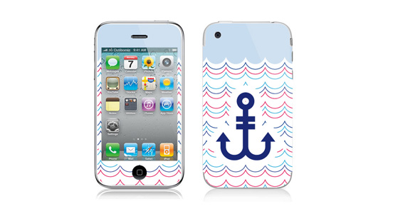 Ancre marine pour Iphone3