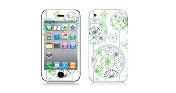 sticker Flocons pour Iphone3