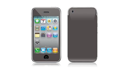 sticker Gris souris pour Iphone3