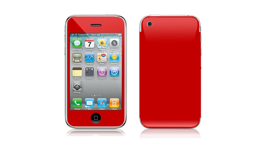 sticker Rouge groseille pour Iphone3
