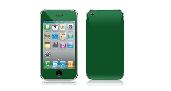 sticker Vert sapin pour Iphone3