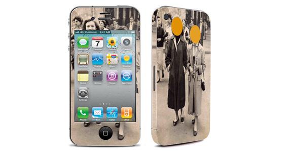 sticker Femmes vintage pour Iphone4
