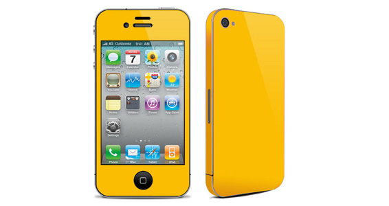 Jaune Tournesol pour Iphone4
