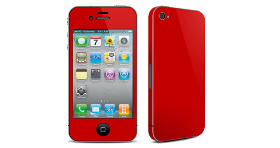 Rouge groseille pour Iphone4