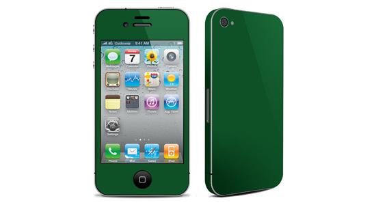 sticker Vert sapin pour Iphone4