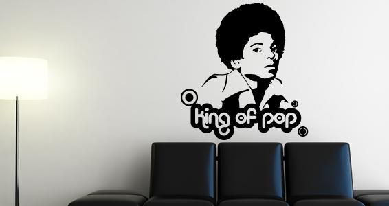 sticker Le roi de la Pop 1