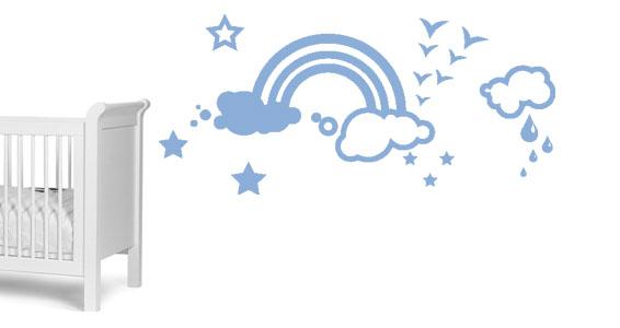 sticker Kit arc en Ciel