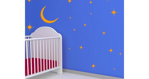 stickers muraux kit ciel toil sticker d coration murale. Black Bedroom Furniture Sets. Home Design Ideas
