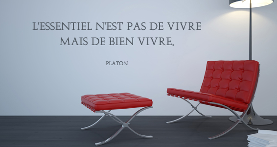 Citation La vie selon Platon