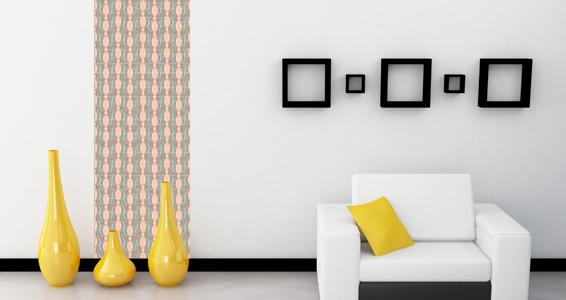 Stickers muraux : lé unique motif 6 - Sticker décoration murale ...