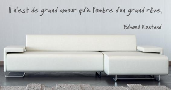 sticker Citation Le grand Amour