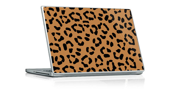 sticker Léopard  pour PC portable