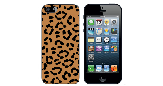 sticker leopard Iphone5