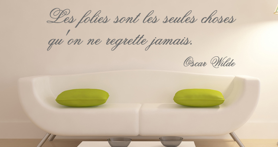 sticker Best-Seller , Les folies & Oscar wilde