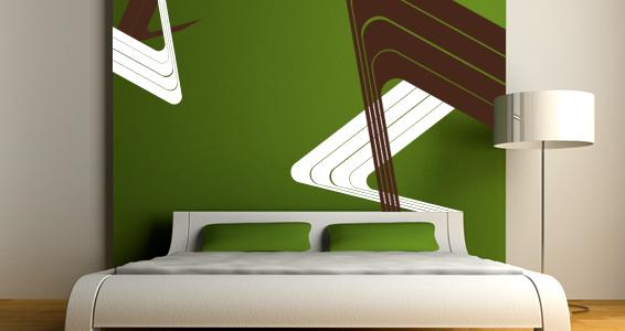 sticker Ligne abstraite 2