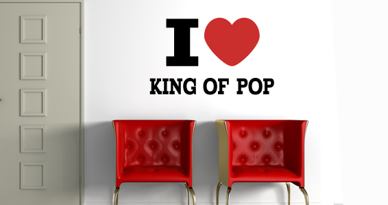 sticker Love King ok Pop