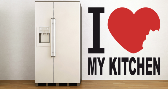 sticker Love my Kitchen