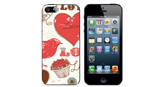 sticker love vintage  Iphone5