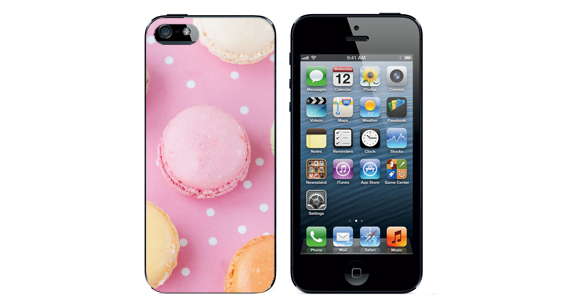 sticker macaron  Iphone5