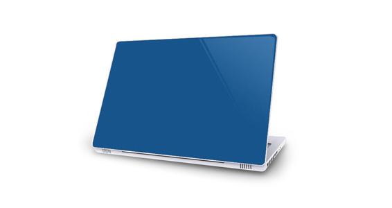 sticker Bleu roi pour Mac Book