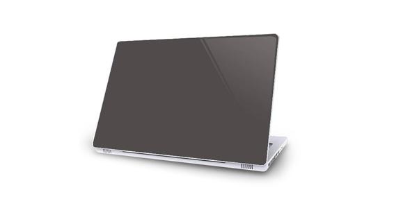sticker Gris souris pour Mac Book