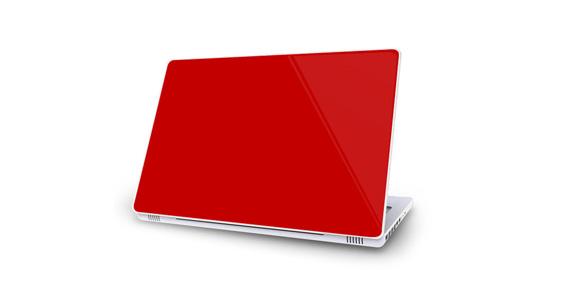 sticker Rouge groseille pour Mac Book