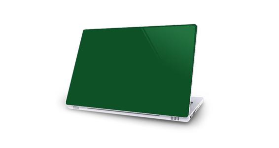 sticker Vert sapin pour Mac Book