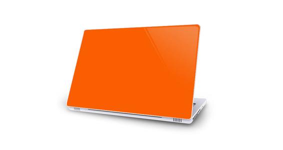 sticker Orange pop pour Mac Booké