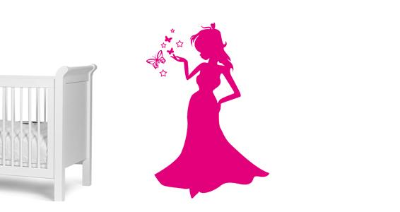 sticker Magique Princesse