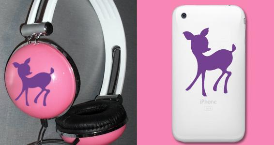 sticker Faon pour Iphone