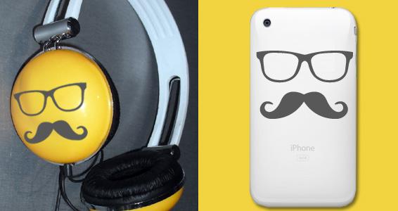 Moustache pour iphone™ pour 10€