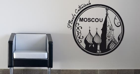 sticker Moscou