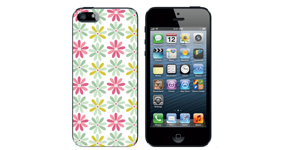 sticker Motif fleural  Iphone5