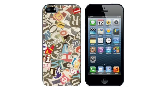 sticker Multi lettres  Iphone5
