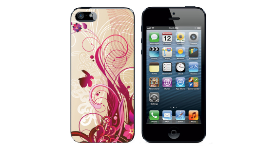 sticker Musique flower  Iphone5