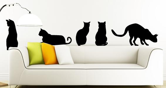 sticker Les chats classiques