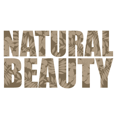 sticker Natural Beauty
