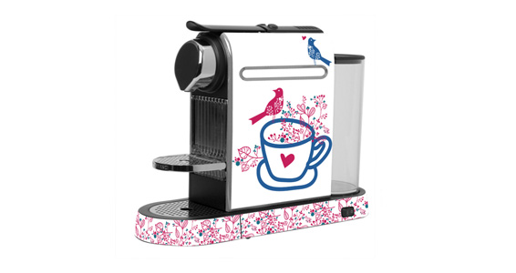 Birds and Flowers pour  Nespresso