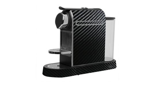 sticker Carbone Noir pour  Nespresso