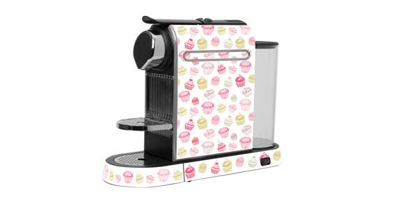 sticker Cupcakes pour  Nespresso