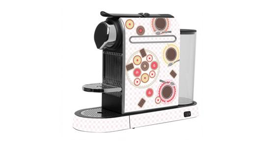 sticker Douceur Café pour  Nespresso