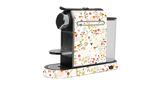 sticker Lovely Birds pour  Nespresso
