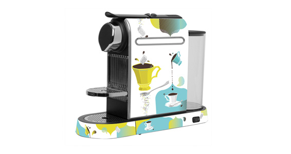 sticker Multi Cup pour  Nespresso