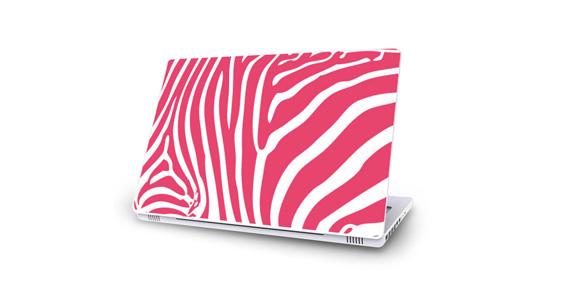 sticker Rose pour Mac Book