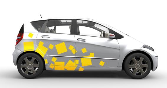 sticker pixel auto