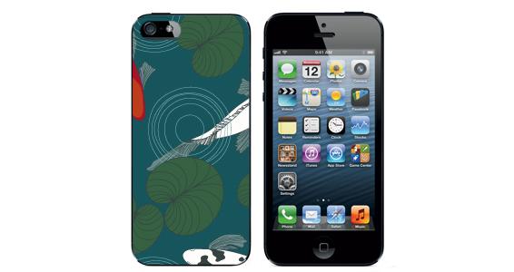 sticker poisson jap Iphone5