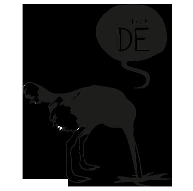 sticker Politique de l'autruche