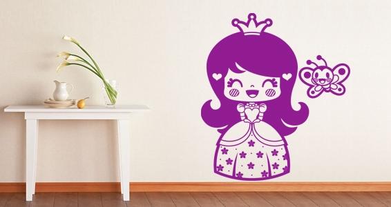 sticker Petite princesse